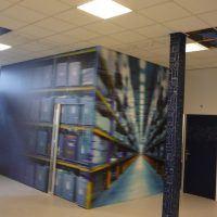 full wall print jordans